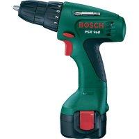 Akuvrtačka Bosch PSR 960, 9,6 V, 1,3 Ah, s kufrem