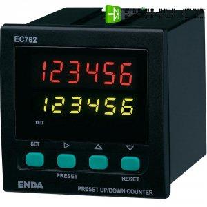 Přednastavený/celkový čítač impulsů ENDA EC762F-230