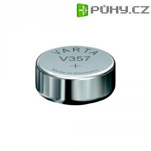 Knoflíková baterie 357, Varta SR44, na bázi oxidu stříbra, 00357101111