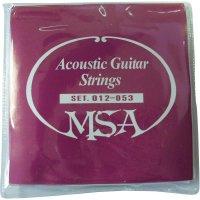 Struny pro akustickou kytaru MSA Musikinstrumente SK31 012-053