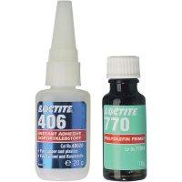 Polyeofeinová lepicí sada LOCTITE® 406/770;142457, 1 sada