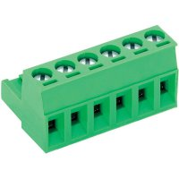 Šroubová svorka PTR AKZ950/2-5.08 (50950020021F), AWG 41995, 250 V/AC, 5,08 mm, zelená