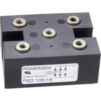 Můstkový usměrňovač 3fázový POWERSEM PSD 105-12, U(RRM) 1200 V