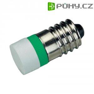LED žárovka E10 Signal Construct, MWCE22729, 12 V, ultra zelená