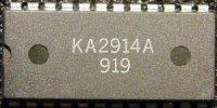 KA2914A - obvod pro TV, DIL24