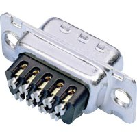 D-SUB kolíková lišta Amphenol 717D B25P ST, 25 pin