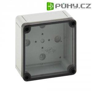 Svorkovnicová skříň polykarbonátová Spelsberg PS 1111-7-t, (d x š x v) 110 x 110 x 66 mm, šedá (PS 1111-7-t)