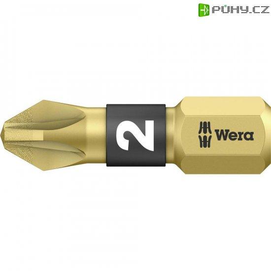 Křížový bit PZ Wera 855/1 BDC PZ 2 X 25 05056702001, nástrojová ocel, 1 ks - Kliknutím na obrázek zavřete