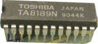 TA8189N - 4x předzesilovač pro double casette deck, SDIP24