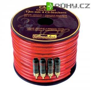 Cinch kabel Sinus Live CA12, 12 m, 4 x cinch zástrčky
