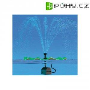 Solární ostrůvek s fontánou Solar Trend Lily, 01225, 150 l/h, 0,4 m