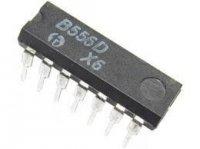 B556D 2x časovač DIL14