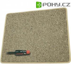 Vyhřívaný kobereček ProCar, 60 x 40 cm, světlé hnědý