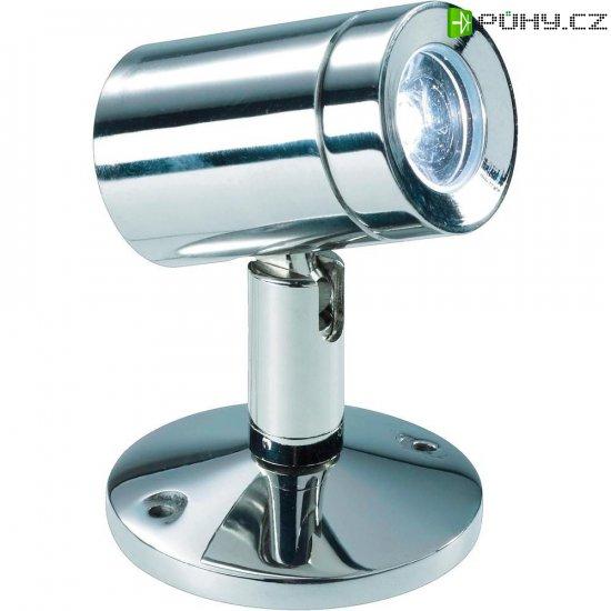 LED bodovka 1 W nerez - Kliknutím na obrázek zavřete