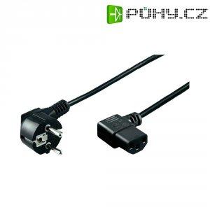 Síťový kabel s IEC zásuvkou Goobay 93119, 5 m, černá
