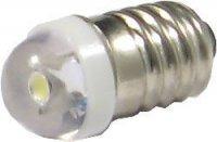 Žárovka LED E10 bílá 12V / 0,3W