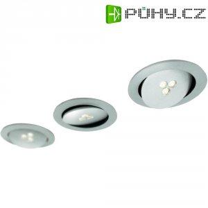 Vestavné LED osvětlení Philips Sculptor, 3x 7,5 W, stříbrná/šedá/hliník (579634816)