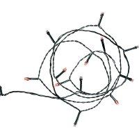 Venkovní micro vánoční řetěz Polarlite, 80 LED, 12,64 m, červená
