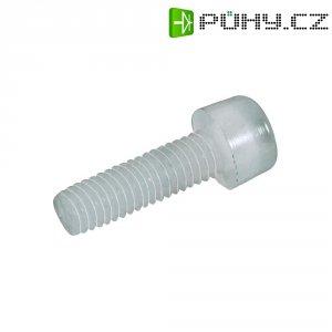 Šrouby s válcovou hlavou svnitřím 6hranem Polyamid DIN912 M3X15 (10)