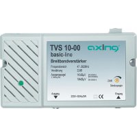 Širokopásmový antenní zesilovač BK Axing TVS 10, 22 dB
