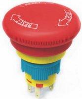 Bezpečnostní tlačítko OFF-ON A16-20SR 250V/5A
