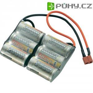 Akupack NiMH (modelářství) Conrad energy, 7.2 V, 3000 mAh, T zásuvka