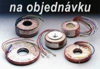 Trafo tor. 30VA 230V/ - 200x0,1 /12x0,5/ 12x0,3 (95/35) zalitý střed 033200