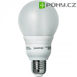 Úsporná žárovka kulatá LightMeClassic E27, 11 W, teplá bílá