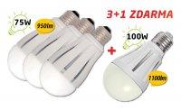 Žárovka LED 12W AKCE 3+1 zdarma