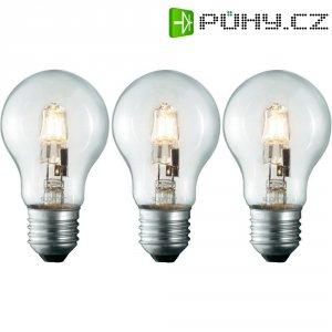 Halogenová žárovka Sygonix, E27, 70 W, stmívatelná, teplá bílá, 3 ks