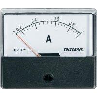 Analogové panelové měřidlo VOLTCRAFT AM-70X60/1A 1 A