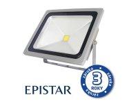 LED reflektor venkovní 50W/4000lm EPISTAR, MCOB, AC 230V, STUDENÁ, šedý