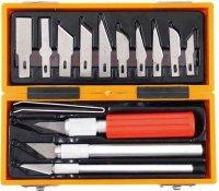 Nože na vyřezávání, 16 dílů, Profi