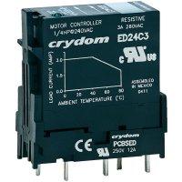 Zásuvné polovodičové relé Crydom, ED24D3, 3 A