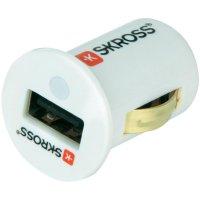 USB autonabíječka Skross, 12 V ⇔ 5 V, 2.1 A