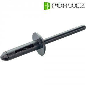 Zaslepovací nýt PB Fastener, 301-9127-1010, plast, černá