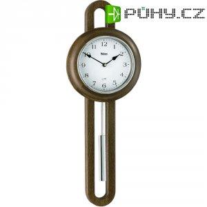 Quarz kyvadlové hodiny - pendlovky, 21 x 59 cm, dřevo, bílá