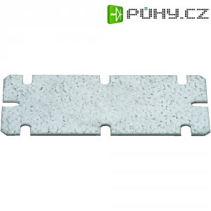 Montážní deska Fibox MIV 100, (d x š) 98 mm x 48 mm (MIV 100)