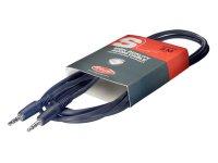 Šňůra propojovací kabel stereo MINI JACK/MINI JACK, 3m Stagg SAC3MPS