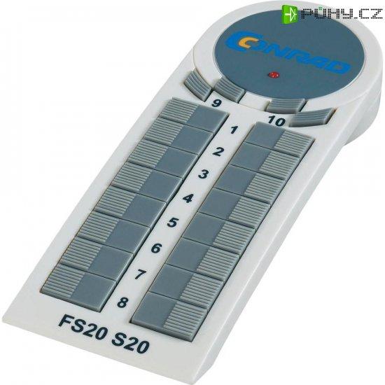 10-kanálové bezdrátové dálkovéovládání S20-3 FS20 - Kliknutím na obrázek zavřete