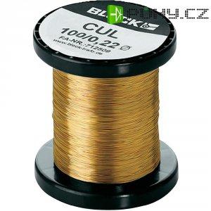 Měděný lakovaný drát CUL, Ø 1,12 mm, Block CUL 100/1,12