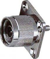 N konektor na panel-upevnění 4šroubky