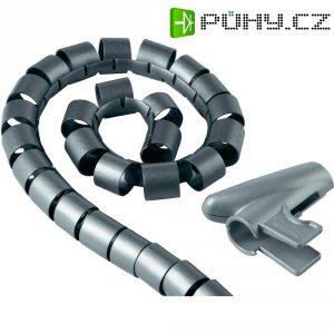 Ochrana kabelu HAMA EASY COVER, 20 mm, stříbrná