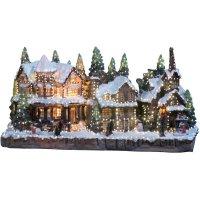 Vánoční vesnice s osvětlením Konstsmide