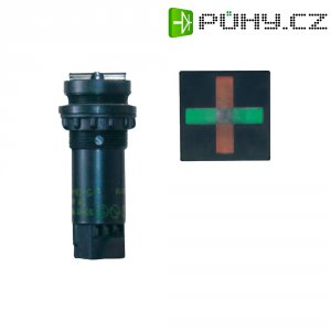 LED signalizace zapnutí Weigel SUS-01 G/R 230V DC