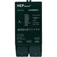 Ovladač LED osvětlení, 60 W, 12 V, LHV60W12