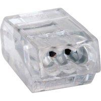 Svorka Wago, 273-153, 0,75 - 1,5 mm², 3pólová, transparentní
