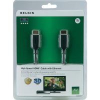 HDMI Belkin High Speed kabel s ethernetem, zlaté kontakty, 1 m