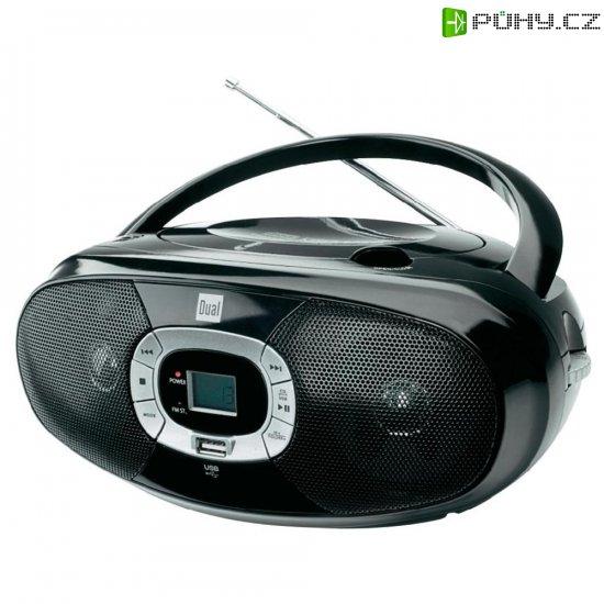 Rádio s USB, CD,FM/AM, Dual 72564, černá - Kliknutím na obrázek zavřete
