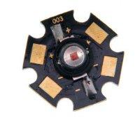 LED 1W PCB bílá,85lm/350mA,120° 3,0V 20x7,4mm